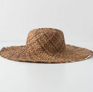 Rare Anthropologie Variance Floppy Sun hat